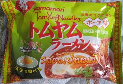 トムヤムラーメン ポーク味