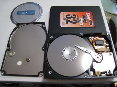 PC-9801NCに入っていた80MBのHDD分解