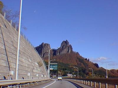 2000年11月の碓氷軽井沢I.C.付近
