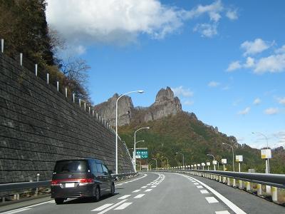 2009年11月の碓氷軽井沢I.C.付近